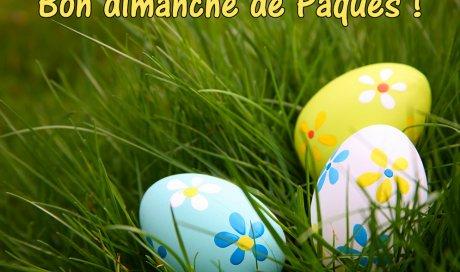 Très joyeux dimanche de Pâques !