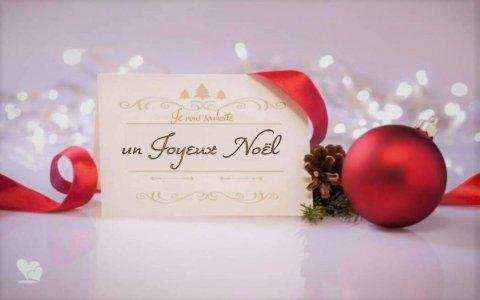 Toute l'équipe de l'entreprise de construction et de rénovation de maisons vous souhaite un très joyeux Noël