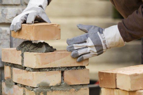 La construction de maison en brique