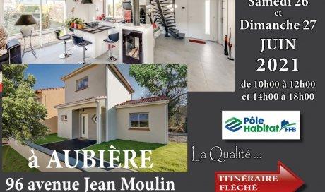 Visite d'une maison proche de Clermont à Aubière PUY DE DOME