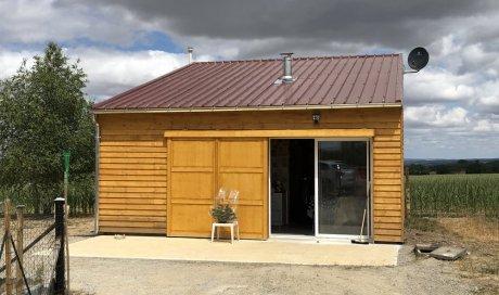Rénovation d'un bâtiment ancien à coté de Montluçon dans l'Allier