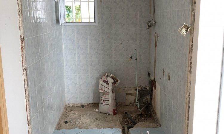 Rénovation de salle de bains à Riom dans le PUY-DE-DOME