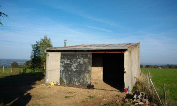 Rénovation d'un vieux bâtiment proche de Montluçon dans l'Allier